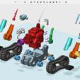 Descargar modelo 3D gratis Full Armor Tank, cycstudio