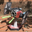 Free 3D print files STAR WARS Episode VII - SF Tie Fighter for xaiomi、xaioyi Camera[ver.1.5], cycstudio