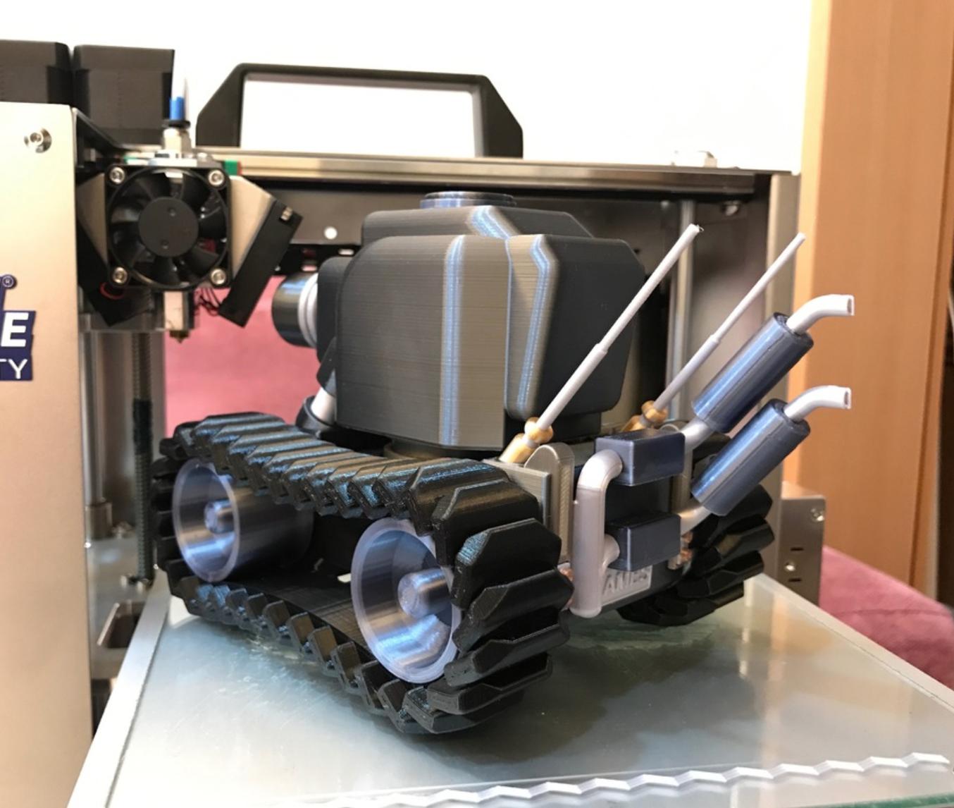 Capture d'écran 2018-01-17 à 14.22.25.png Download free STL file Light Armor Tank • Object to 3D print, cycstudio