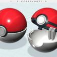 Descargar archivos 3D gratis Poké Ball, cycstudio