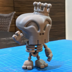 Free 3D model Skeleton King figure, cycstudio