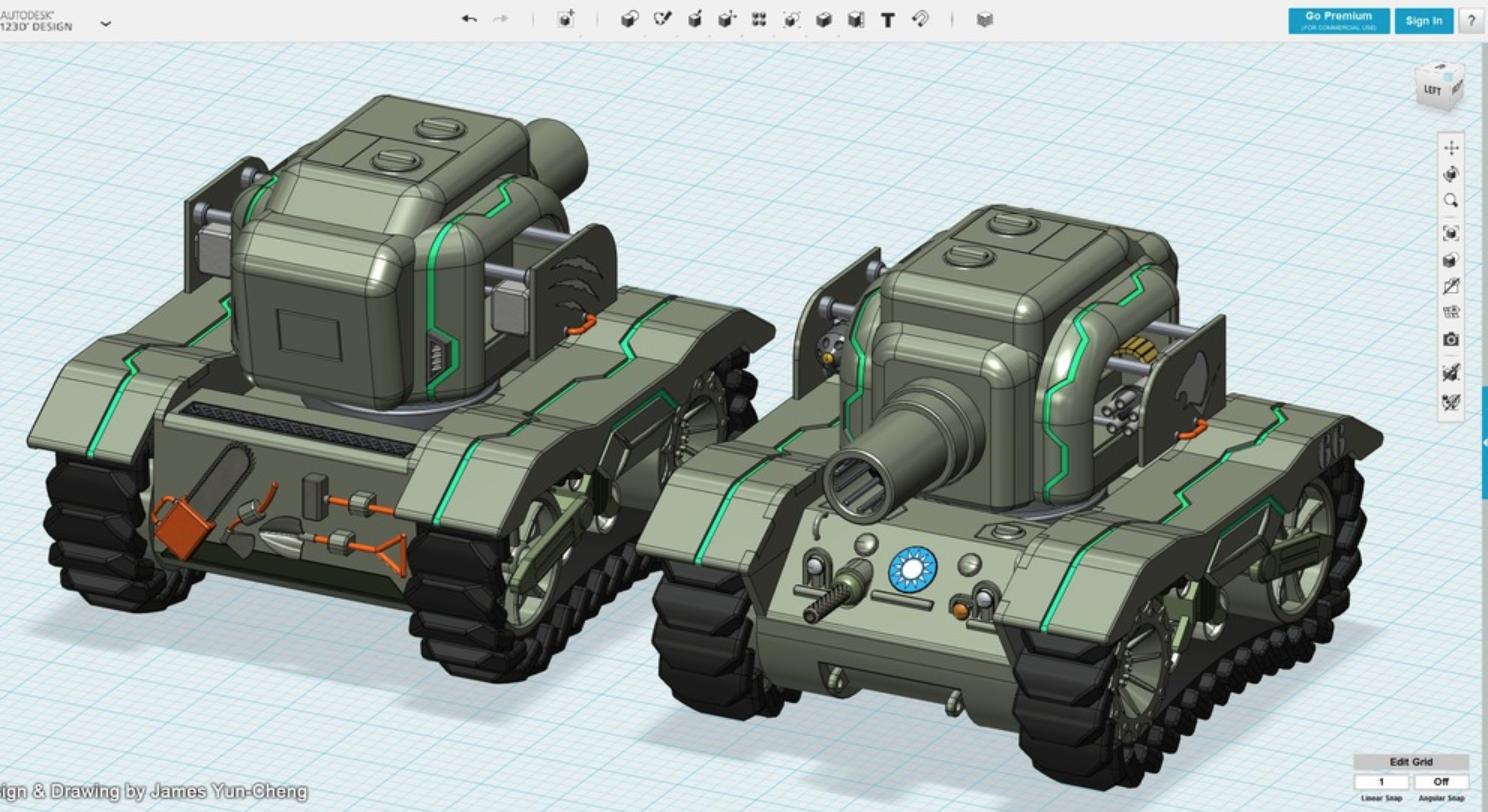 Capture d'écran 2018-01-17 à 14.20.58.png Download free STL file Future Bear - M5A1 Ultra Evolution • 3D printing design, cycstudio