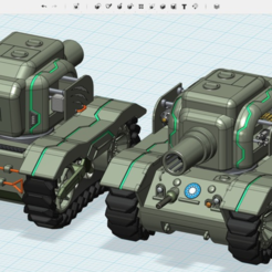 Download free 3D printer designs Future Bear - M5A1 Ultra Evolution, cycstudio
