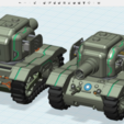 Free STL files Future Bear - M5A1 Ultra Evolution, cycstudio