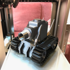 Capture d'écran 2018-01-17 à 14.22.30.png Download free STL file Light Armor Tank • Object to 3D print, cycstudio