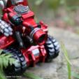 Free 3D printer model Full Armor Tank, cycstudio