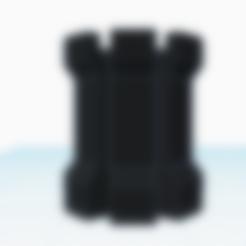 Rook.stl Download free STL file Rook • 3D printer template, SomeDesigner