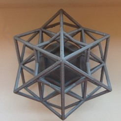 Download free STL file Lattice Cube, SomeDesigner