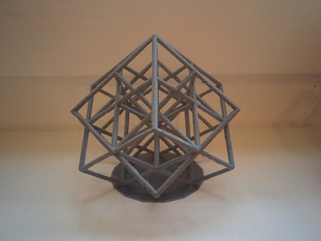 d347e070649b631e0c931ed2bf6493bc_preview_featured.jpg Download free STL file Lattice Cube • 3D print design, SomeDesigner