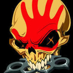 Descargar modelos 3D gratis Five Finger Death Punch Skull y Brass Knuckles, SomeDesigner