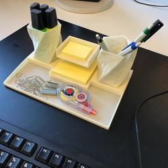 Télécharger modèle 3D gratuit Base pour pot à crayon, nickypicx