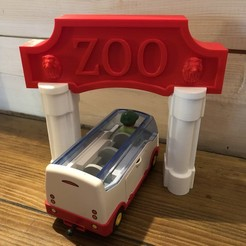 Download 3D printing files Entry ZOO for children, Touned