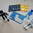 Diseños 3D gratis Figura de acción de tarjeta de crédito, mygadgetlife