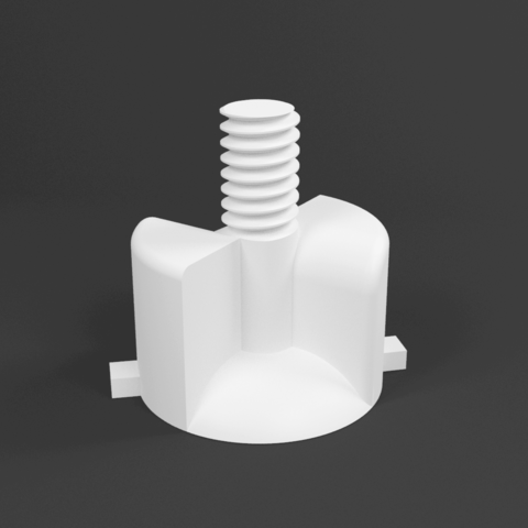 render of universal camera mount.png Download free STL file Adjustable Tripod (FULLY 3D PRINTED) • 3D printing design, samsuchin
