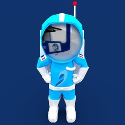 stratonaut_Front_Render.jpg Download free STL file Stratonaut: Exploring The Unknown • Model to 3D print, samsuchin