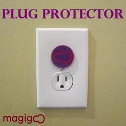 modelos 3d gratis Protectores de enchufe Magigoo, samsuchin