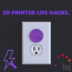 Imprimir en 3D gratis ¡Protectores de enchufes! TRUCO DE VIDA, samsuchin