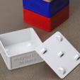 Download free STL Kitchen Junk Boxes, Festus440