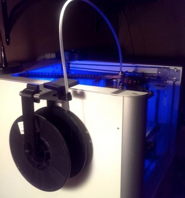 Capture d'écran 2018-01-17 à 16.11.49.png Download free STL file Creatr Side-car Spool Holder with Filament Guide • 3D print template, Festus440