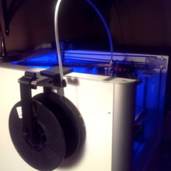 Download free 3D print files Creatr Side-car Spool Holder with Filament Guide, Festus440