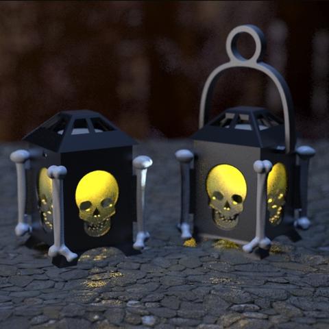 Capture d'écran 2018-01-17 à 16.14.46.png Download free STL file LED Skull Lantern • Model to 3D print, Festus440
