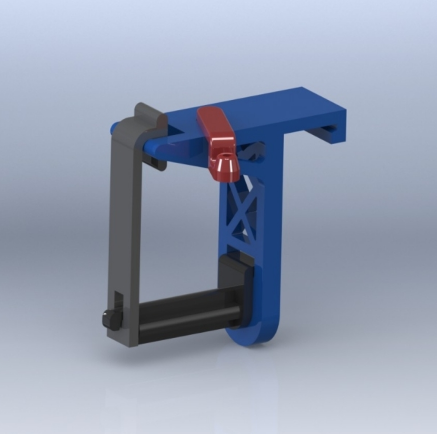 Capture d'écran 2018-01-17 à 16.12.05.png Download free STL file Creatr Side-car Spool Holder with Filament Guide • 3D print template, Festus440