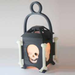 Download free 3D printing files LED Skull Lantern, Festus440