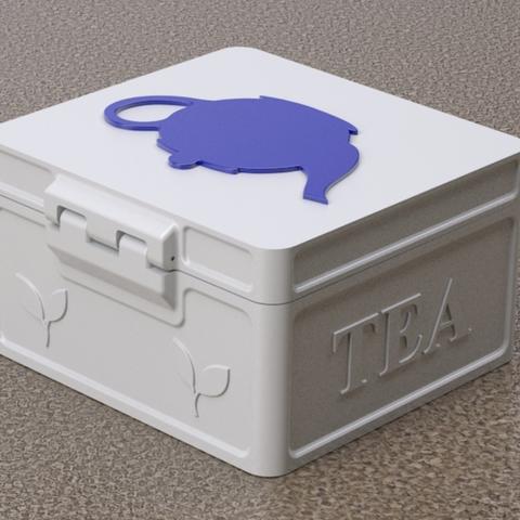 Capture d'écran 2018-01-17 à 16.17.57.png Download free STL file Countertop Tea Chest • Model to 3D print, Festus440