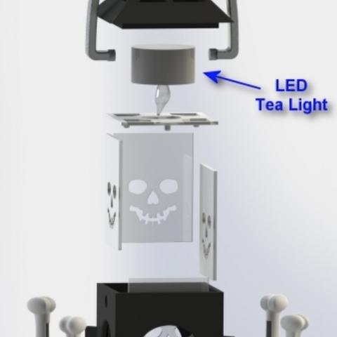 Capture d'écran 2018-01-17 à 16.14.38.png Download free STL file LED Skull Lantern • Model to 3D print, Festus440
