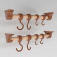 Download free 3D printing designs Hook & Hanger System, Festus440