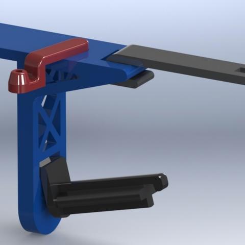 Capture d'écran 2018-01-17 à 16.11.59.png Download free STL file Creatr Side-car Spool Holder with Filament Guide • 3D print template, Festus440