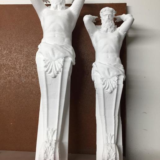 Download 3D printer files Arhitecture Atlant, chipappo