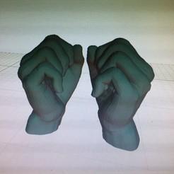 Download STL file Human hands • 3D printable model, chipappo