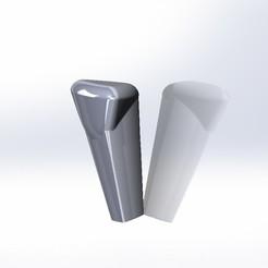 Download STL file citroen c4 gear knob original • Design to 3D print, chipappo