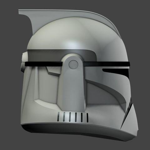 clone-helmet-phaze-1-3d-model-obj (4).jpg Download OBJ file Clone Helmet Phase 1 • 3D printer design, fletcherkinnear