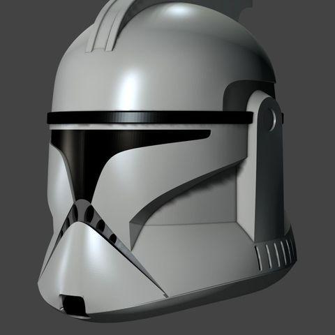 clone-helmet-phaze-1-3d-model-obj (1).jpg Download OBJ file Clone Helmet Phase 1 • 3D printer design, fletcherkinnear