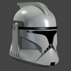 Download 3D printing templates Clone Helmet Phase 1, fletcherkinnear