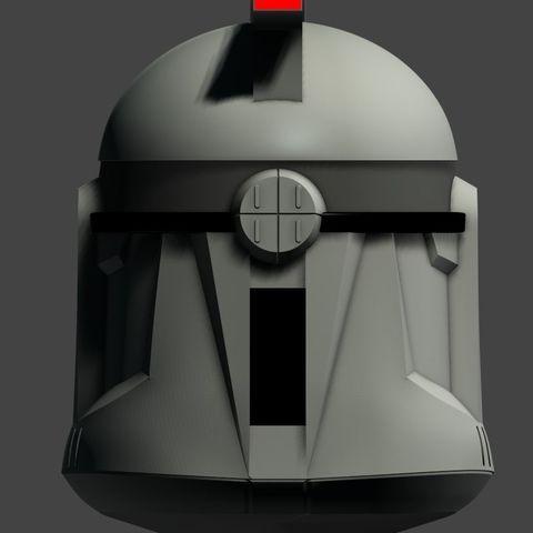 clone-helmet-phaze-1-3d-model-obj (3).jpg Download OBJ file Clone Helmet Phase 1 • 3D printer design, fletcherkinnear