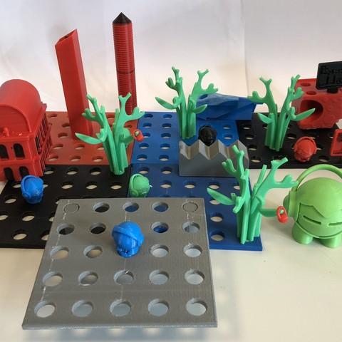 Impresiones 3D gratis Ciudad 3D, 3DCity