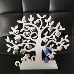 Download STL file jewelry tree • Template to 3D print, Seb0031