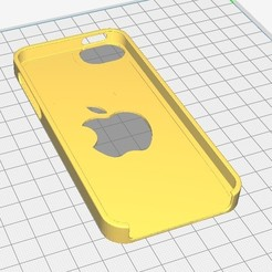 coqueiphone5.jpg Download STL file iphone 5 case • 3D printing template, Seb0031