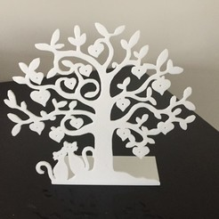 Archivos 3D árbol de la joyería, Seb0031