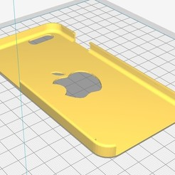 Download 3D printer templates iphone 6 case, Seb0031