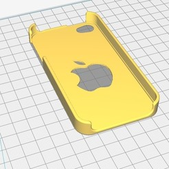 Download 3D printer designs iphone 4 case, Seb0031