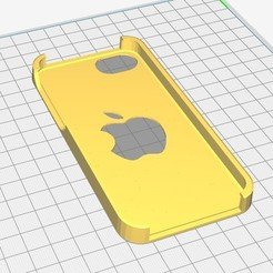 Download 3D printer templates iphone 5c case, Seb0031