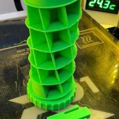 IMG_9923.JPG Télécharger fichier STL gratuit Pilulier spirale 31 jours (poches plus profondes avec poche bonus) • Plan pour imprimante 3D, SpectreGadget