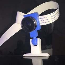 IMG_1388.JPG Download free STL file Robo3D Camera mount for Bed (centered) • 3D printer design, SpectreGadget