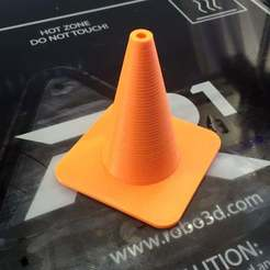 Download free STL file Traffic Cone • Model to 3D print, SpectreGadget