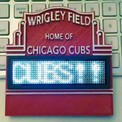 IMG_1503.PNG Download free STL file Wrigley Field Marquee Standing Sign • 3D printer object, SpectreGadget