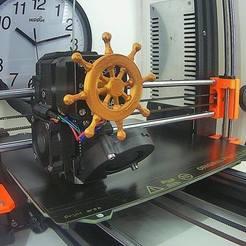 Wheel_Pic.jpg Télécharger fichier STL gratuit Roue de croisière de la jungle des extrudeuses • Design à imprimer en 3D, SpectreGadget